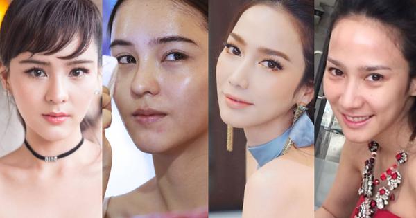 Soi mặt mộc của dàn mỹ nhân ''hack tuổi'' đỉnh nhất Thái Lan: Người đẹp bất chấp, kẻ già dặn bất ngờ