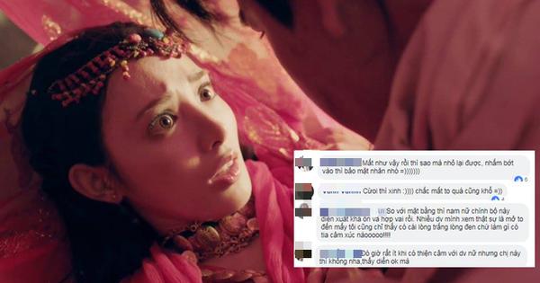 """Fan """"Đông Cung"""" tranh cãi vì cặp mắt to như... con ốc của nữ chính Bành Tiểu Nhiễm"""