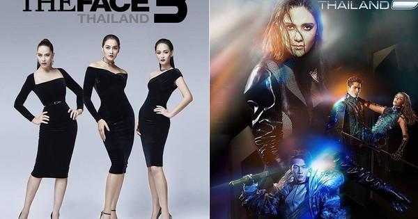 """""""The Face Thailand"""" mùa 5 tung poster như phim viễn tưởng: Nhìn vào biết ngay ai là """"chị đại""""!"""