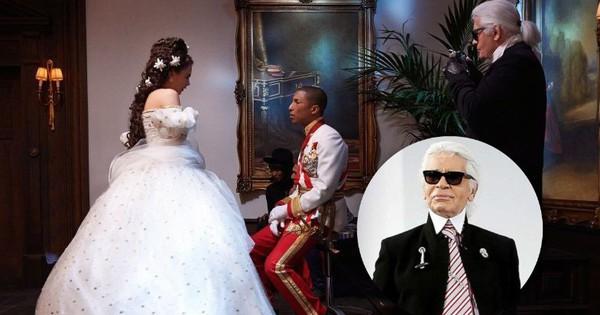 Không chỉ là nhà thiết kế thời trang huyền thoại, Karl Lagerfeld còn từng thử sức đạo diễn nhiều phim ngắn