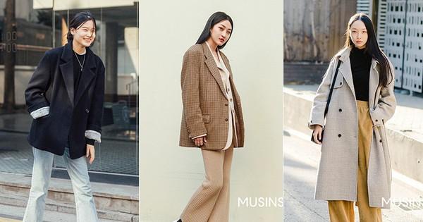 Muốn ăn mặc thoải mái mà sang, đơn giản mà vẫn trendy, bạn chỉ cần xem giới trẻ Hàn diện gì tuần qua là xong ngay
