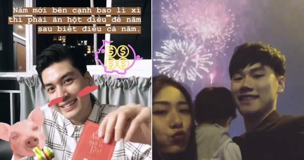 Hotboy, hotgirl Việt háo hức chia sẻ những khoảnh khắc đầu tiên của năm 2019