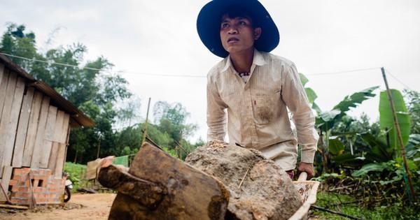 Ước mong làm chủ rẫy cà phê của anh thợ hồ Quảng Ngãi thành hiện thực với món lộc xuân 1.5 tỷ đồng