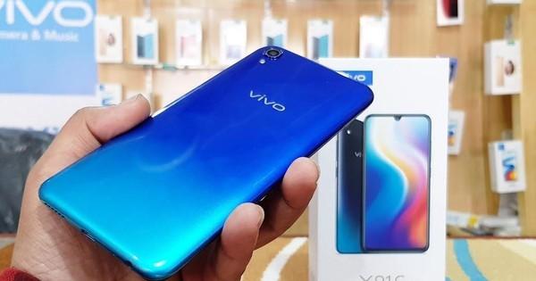 Vivo Y91C: Smartphone màn hình tràn, pin khủng, giá chỉ 2,99 triệu đồng, độc quyền tại Thế Giới Di Động