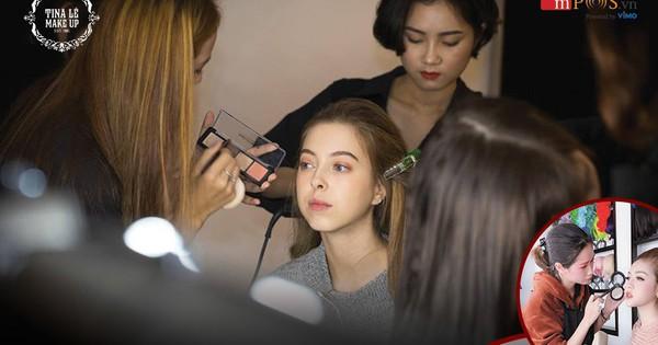 Điều kiện chưa cho phép, chọn ngay gói học make-up trả góp 0% tại Tina Lê Make Up Academy