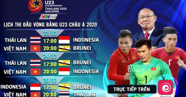 Các trận đấu U23 Việt Nam tại Vòng loại U23 sẽ được trực triếp trên Onme không giới hạn dung lượng data