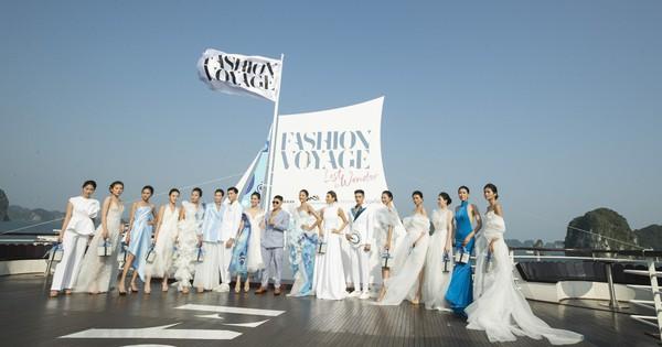 Trên sàn catwalk du thuyền 5 sao, BST từ cảm hứng ''thời trang thuần khiết'' lên ngôi trong sự choáng ngợp, mãn nhãn
