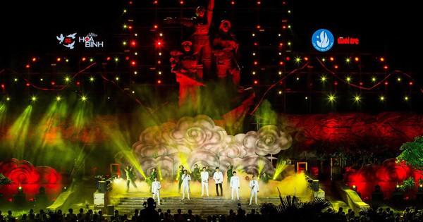 Hàng loạt ngôi sao âm nhạc hội tụ trong đêm nghệ thuật ''Câu chuyện hòa bình'' tại Quảng Bình