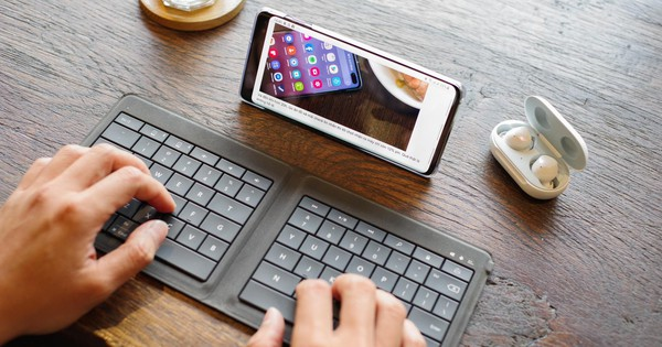 Tôi không còn sử dụng laptop khi đi công tác từ khi chuyển sang Galaxy S10
