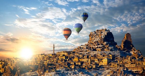 Ghé thăm miền cổ tích muôn màu Cappadocia