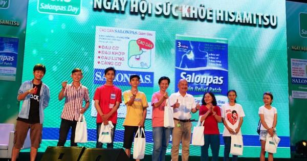 Ấn tượng ''Ngày hội sức khỏe Hisamitsu - Salonpas Day 2019''