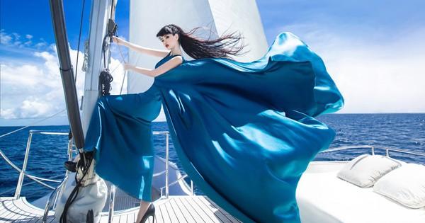 Người thổi hồn cho những kiểu tóc của Jessica Minh Anh tại Maldives