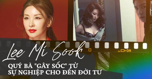 Trước khi dính líu tới vụ tự tử của sao nữ ''Vườn Sao Băng'', quý bà Lee Mi Sook ''gây sốc'' từ sự nghiệp đến đời tư