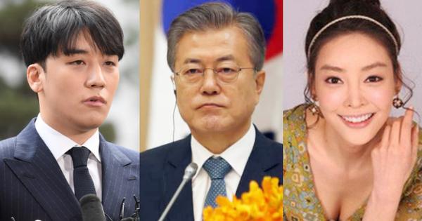 Tổng thống Hàn Quốc Moon Jae In ra công điện khẩn, yêu cầu các Bộ lớn điều tra kỹ vụ bê bối của Seungri, Jang Ja Yeon