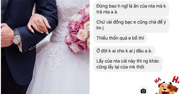 Đi công tác không kịp về dự đám cưới, anh chàng chết điếng khi nhận được tin nhắn đòi phong bì của vợ bạn: ''Tiền đấy vợ chồng em bố thí, anh nuốt trôi nhé!''