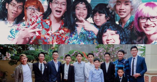 11 anh em trai quyết hóa trang giả gái hát trong đám cưới để thỏa ao ước có cháu gái của bà ngoại vì cả nhà toàn cháu trai