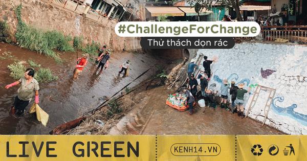 Dễ thương làm sao hình ảnh người lớn, trẻ nhỏ cũng xắn tay với ''Thử thách dọn rác'': Dòng kênh đen dài 2km hồi sinh sau 1 tuần lễ