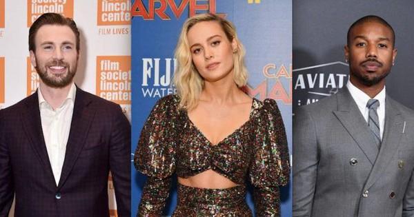 Rần rần tin đồn ''Captain America'' và Michael B. Jordan tranh nhau theo đuổi ''Captain Marvel'' Brie Larson