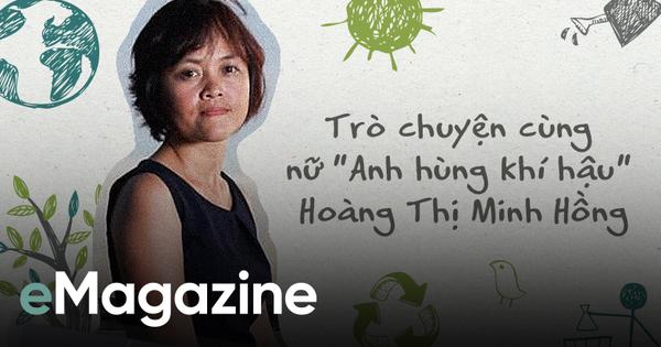 Nữ 'Anh hùng khí hậu' Hoàng Thị Minh Hồng: 'Cai' đồ nhựa cũng khó như bỏ thuốc lá!