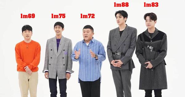 Cao 1m75 nhưng Kwanghee như hóa... ''người tí hon'' khi đứng kế 2 nam Idol ''khổng lồ'' này!