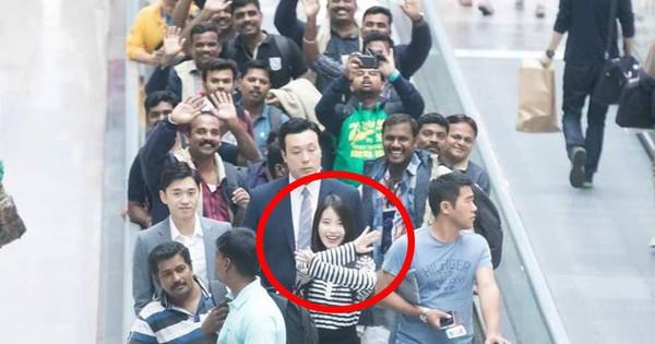 Góc nhận vơ: Fan đón IU nhưng đoàn các anh trai cứ tưởng dân Hàn hiếu khách chào mình mà vẫy tay như thật!