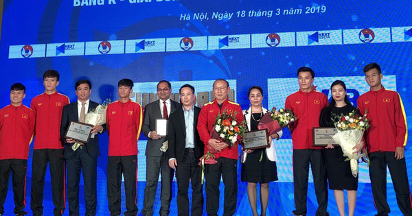 Ra mắt nhà tài trợ các trận đấu thuộc bảng K – Vòng loại giải bóng đá vô địch U23 châu Á 2020
