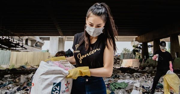 Trang chủ Miss Earth và cộng đồng mạng quốc tế khen ngợi Phương Khánh hết lời khi tham gia phong trào