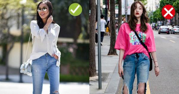 """Chạm ngưỡng 30: Kiểu quần jeans nào là """"chân ái"""" tôn dáng nịnh chân, kiểu quần nào cần loại bỏ ngay và luôn?"""