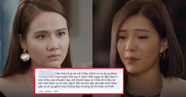 Khán giả ''Chạy Trốn Thanh Xuân'' phẫn nộ thay cho Châu, đề nghị Phi chia tay An ngay kẻo phí cả đời