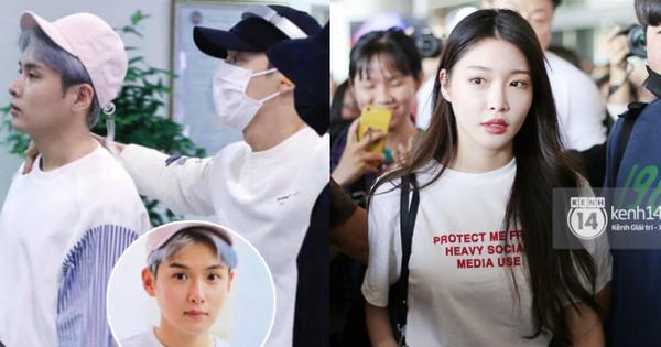 Dàn sao Hàn đổ bộ sân bay Tân Sơn Nhất: Super Junior gây náo loạn,