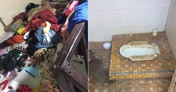 Lại xuất hiện một gái ở bẩn đến giật mình: Quần áo đồ đạc vứt la liệt đến bốc mùi, nhà vệ sinh ố vàng không dám đặt chân