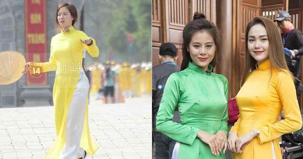 """Running Man: Song Ji Hyo có bị """"lép vế"""" trước Minh Hằng, Nam Thư, Lan Ngọc khi diện áo dài?"""