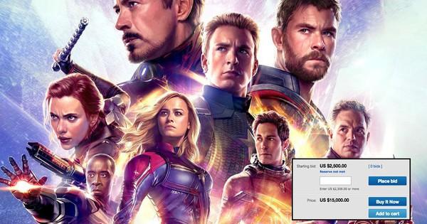 Chi hẳn 300 triệu cho một cặp vé chợ đen Endgame, chỉ có fan Marvel mới chơi lớn đến tầm này!