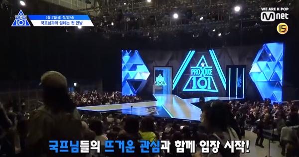 """Nhìn thí sinh """"Produce X 101"""" catwalk trên sân khấu, fan thốt lên: """"Tưởng đang thi Hoa hậu Hoàn vũ?"""""""