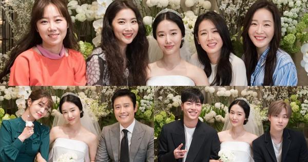 Bộ ảnh hậu trường cưới khủng nhất lịch sử Kbiz: Son Ye Jin và mỹ nhân
