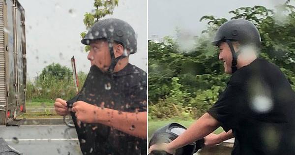 Chồng nhà người ta: Bắt vợ đi taxi cho đỡ mưa còn mình chạy xe máy đuổi theo, danh tính lại càng gây bất ngờ