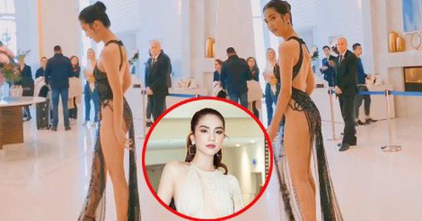 Độc quyền: Ngọc Trinh gây sốc khi diện trang phục ''mặc như không'' chuẩn bị đi thảm đỏ LHP Cannes