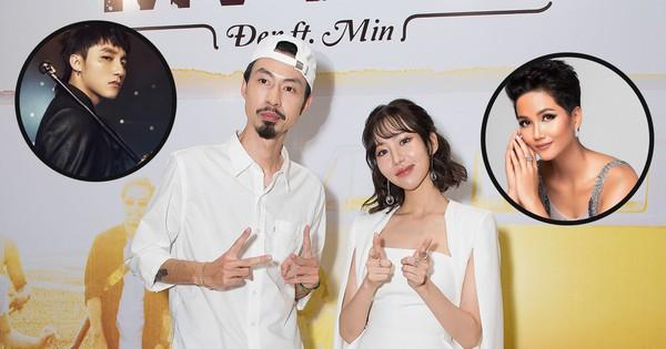 Đen tung sản phẩm bắt tay lần đầu cùng Min, ca khúc lại có nhắc đến Sơn Tùng và hoa hậu H''Hen Niê đây này