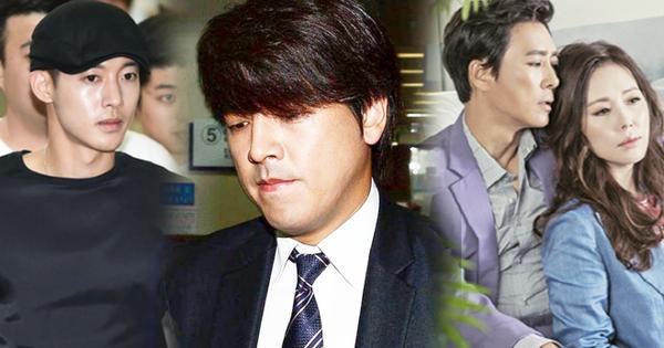Kết cục dành cho 5 sao nam Hàn đánh phụ nữ: Kẻ lĩnh án tù, người cuối gây sốc nhất lại hạnh phúc viên mãn