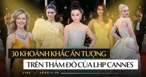 30 màn thả dáng có thần thái đi vào huyền thoại Cannes: Không cần trò ''vạch, phơi'' lồng lộn vẫn chiếm trọn spotlight!