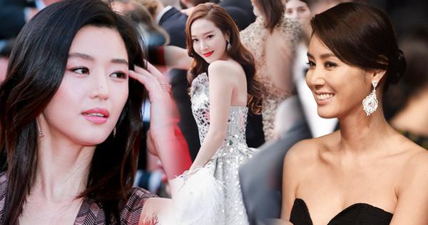Nữ minh tinh xứ Hàn lên thảm đỏ Cannes: Jeon Ji Hyun và