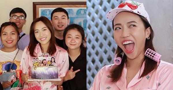 Diệu Nhi bất ngờ được fan tổ chức sinh nhật lúc đang ngủ để lộ mặt mộc và loạt biểu cảm vô cùng hài hước