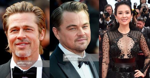 Thảm đỏ Cannes nóng lên từng phút: Brad Pitt - Leonardo lịch lãm ''ná thở'', Chương Tử Di khoe vòng một giành spotlight