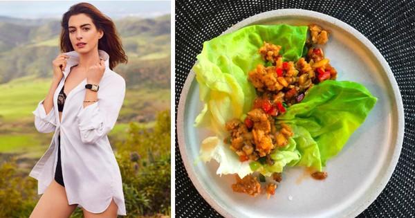 Bỏ ăn chay, Anne Hathaway lựa chọn chế độ ăn nào để duy trì vóc dáng thon gọn ở tuổi 37?