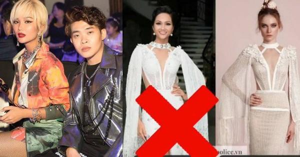 Trong khi NTK Việt im lặng, stylist của Hoa hậu H''Hen Niê mạnh dạn nhận yếu kém khi để cô mặc váy ''giống mẫu của NTK nước ngoài khác''