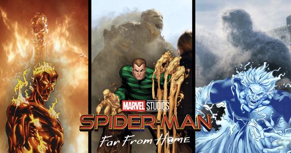 'Gặp gỡ' 4 kẻ thù truyền kiếp của nhện nhí Tom Holland trong FAR FROM HOME: Người cuối cùng sẽ gây sốc!