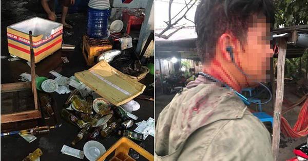 Vụ quán ăn bị đập phá tan hoang vì đánh khách đổ máu khi thắc mắc tô hủ tiếu 100.000 đồng: Nhóm người hành động rất nhanh rồi rời đi