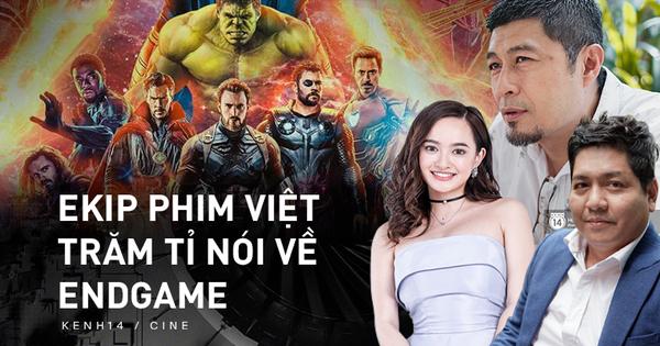 Các ekip phim Việt trăm tỉ xem xong ENDGAME: