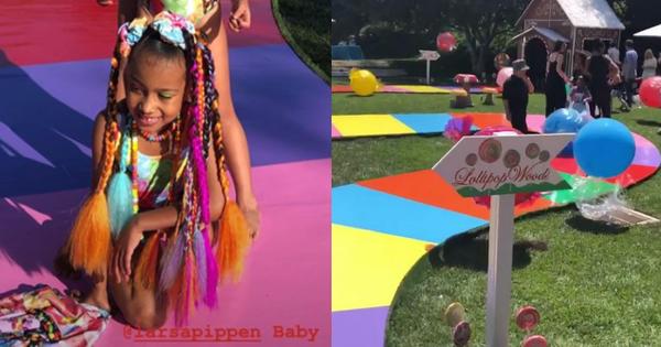 Choáng váng tiệc sinh nhật ngập tràn kẹo ngọt ''siêu to khổng lồ'' của con gái lớn nhà Kim: Đúng là rich kids!