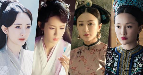 Nhìn tạo hình cổ trang ''ăn tiền'' của sao Hoa Ngữ, netizen đua nhau cảm thán: Đẹp gì nhức nách vậy các ''chế'' ơi?